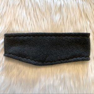 Accessories - Charcoal Gray Fleece Ear Warmers Headband NWOT